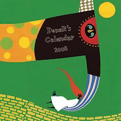 Denali's Calendar 2008「デナリのいきものずかん」