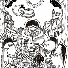 童話「ザグドガ森のおばけたち」